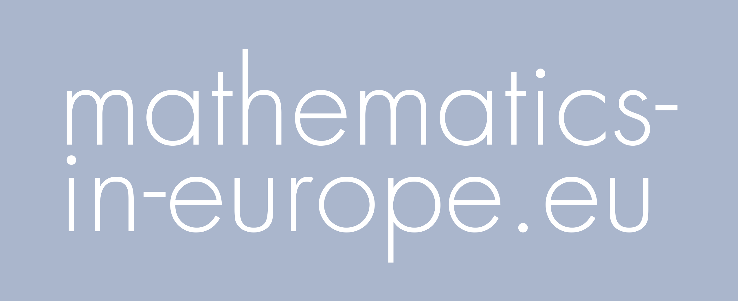 Mathematics in Europe